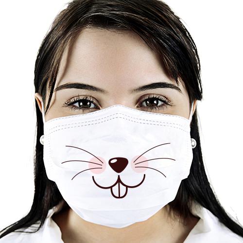 Máscara de Tecido Personalizada   Infantil