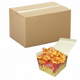 Batata Frita Viagem | Pré-Fabricada | Cx C/ 560 Personalizado
