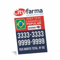 Ímã de Geladeira Manta Total | 9x5cm Cartão Starlux 250g/m² 9x5 4x0