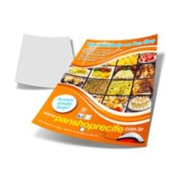 Impressão Digital | A3 | 4/0 Papel Para Impressão Digital 29.7x42 4/0 cores