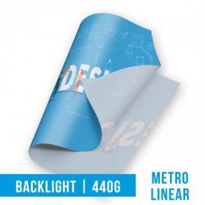 Lona - BackLight Lona 440g  4x0 Brilho Sem acabamento