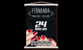 Mini Banner Lona 280g 20x60