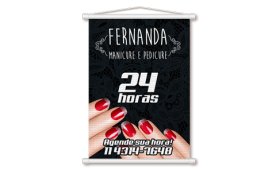 Mini Banner Lona 280g 20x90 4x0