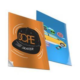 Papel Adesivo Fosco SRA4 Adesivo Fosco 22x32 4x0 cores