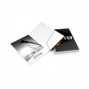 Pasta com Bolsa 300g | 4/1 | UV 1/0 Cartão Starlux 300g/m² 30x22 4x1