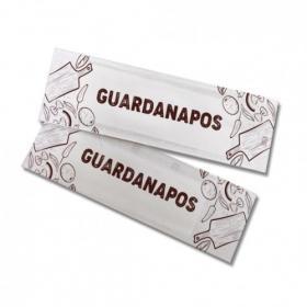 Sachê c/ 2 Guardanapos | Refeição | 100 Unid Personalizado
